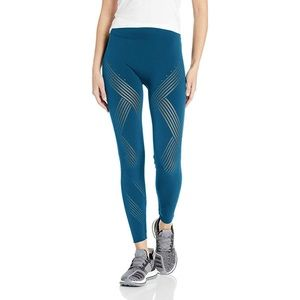 Adidas Warpknit High Rise Tights Leggings Aqua